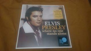 ELVIS PRESLEY WHERE NO ONE... Disco vinilo LP