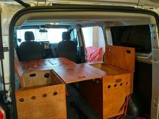 Cama para furgoneta de segunda mano en wallapop - Muebles furgoneta camper ...
