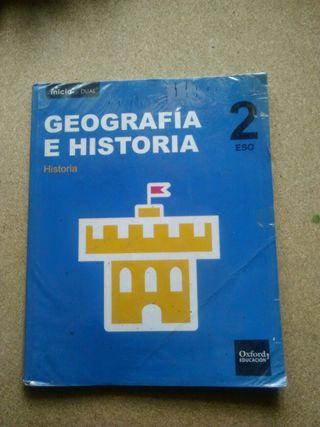 Libro 2° de ESO Historia Oxford
