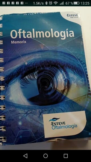 Libro Memorix oftalmologia