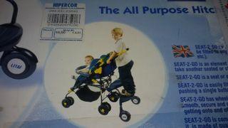 Adaptador para carrito bebé