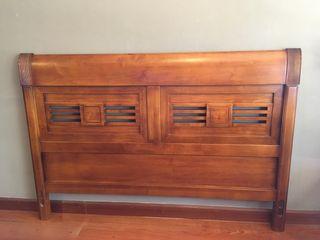 Cabecero Vintage madera maciza