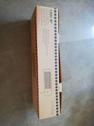 Radiador infrarrojos 1.200w nuevo baño
