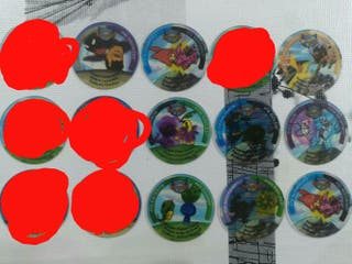 Tazos Pokemos Serie Legue 2