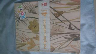 libro de religión 4 primaria