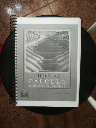 CÁLCULO EN VARIAS VARIABLES- Thomas
