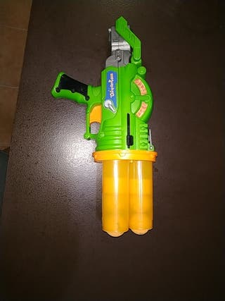 Pistola de bolas gomaespuma