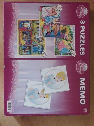 Puzzles infantiles y memory