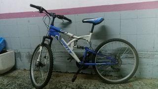 bicicleta freno de disco