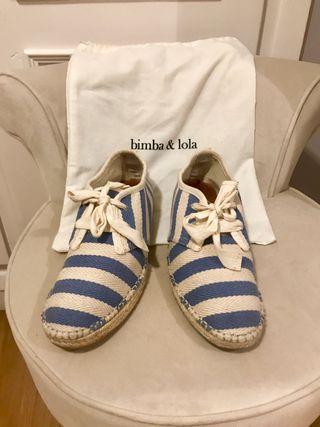 Zapatos BIMBA Y LOLA TALLA 36 alpargata