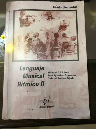 Libro Lenguaje Musical Rítmico II