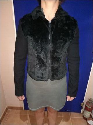 chaqueta negra mujer