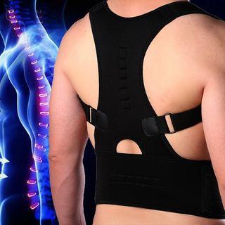 corrector de espalda faja lumbar postural iman