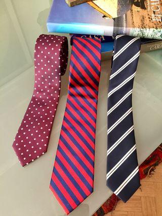Kit de 3 corbatas