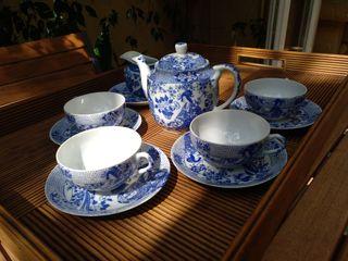 Juego café porcelana china
