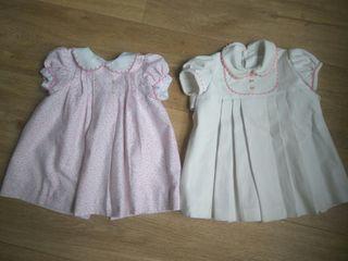 vestidos talla 6m - 1 año