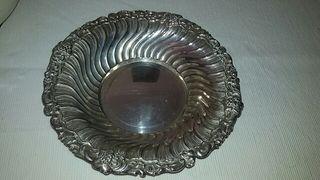 plato de plata.