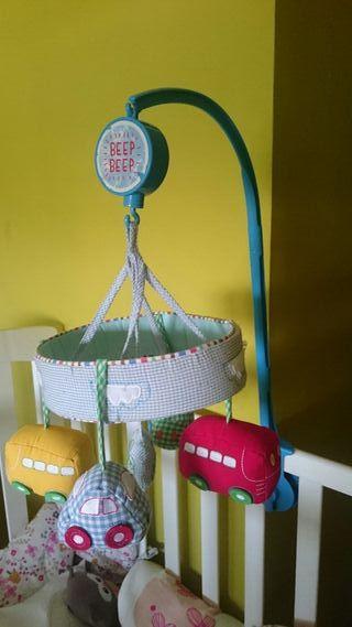 Carrusel móvil de cuna Beep-beep mothercare