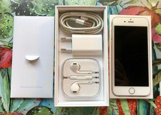 IPhone 6 con caja, cargador, auriculares!!!!