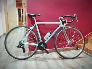 bici años 80 adaptada a gravel