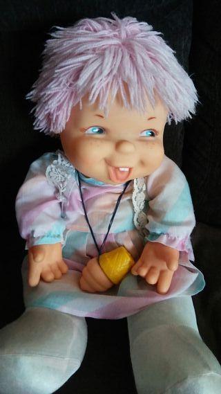 Muñeca chochona tómbola