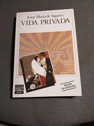"Libro ""Vida privada"""