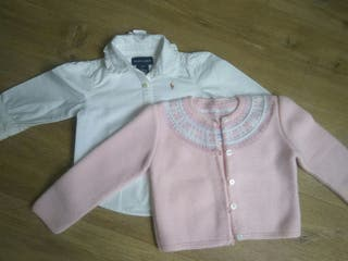 chaqueta greca 18 meses