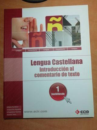 lengua castellana 1°bachiller