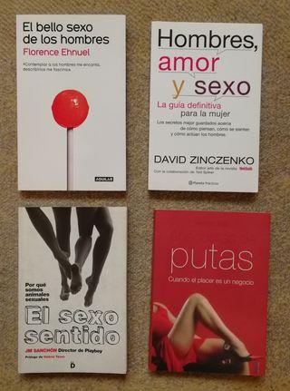 Pack de libros sobre sexo