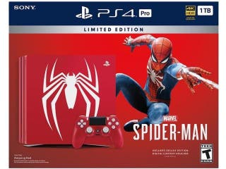 Ps4 PRO 1Tb LIMITED EDITION SPIDERMAN NUEVAS