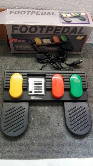 pedales Sega
