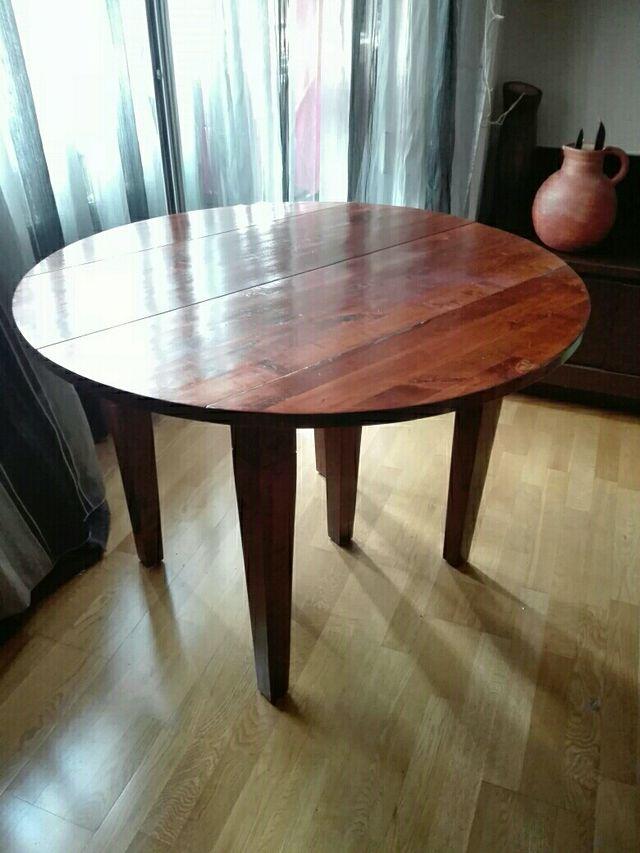OPORTUNIDAD! Mesa de madera para comedor de segunda mano por 125 ...