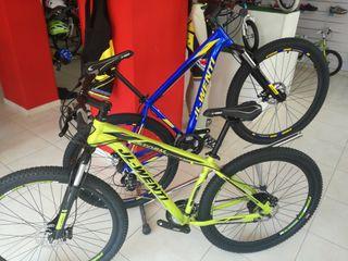 """bicicleta montaña aluminio 29""""/ 27,5"""" freno disco"""