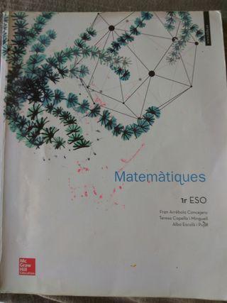Libro Matemáticas 1 ESO