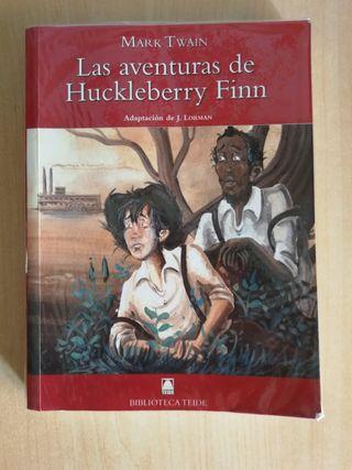 Libro, las aventuras de Huckleberry Finn