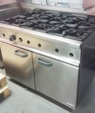 Cocinas de gas con horno eléctrico de segunda mano en Málaga en WALLAPOP