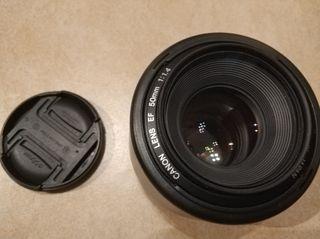 Objetivo Canon 50mm F 1.4