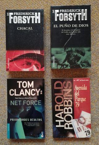 Pack de libros (novela intriga)