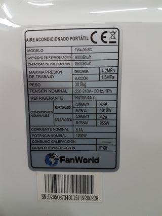 aire acondicionado inverter portatil frio calor