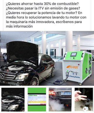 Descarbonizacion de motores