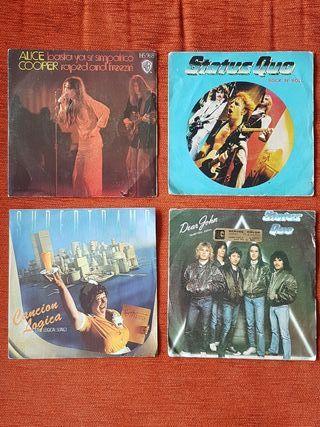 vinilos singles Rock
