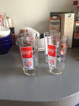 Vasos Coca Cola Estados Unidos 94