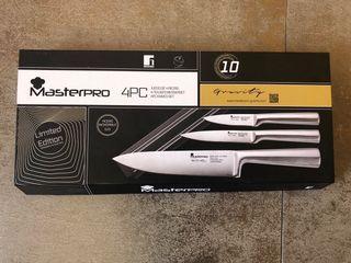Juego 3 cuchillos + soporte