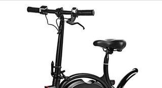 bici eléctrica con GPS plegable