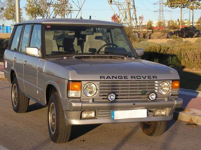 Land Rover Vogue I - Range Rover Vogue I, año1985