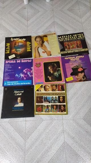 40 Discos de vinilo LP's