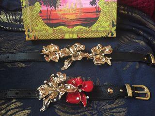 Gianni Versace precioso collar y pulsera