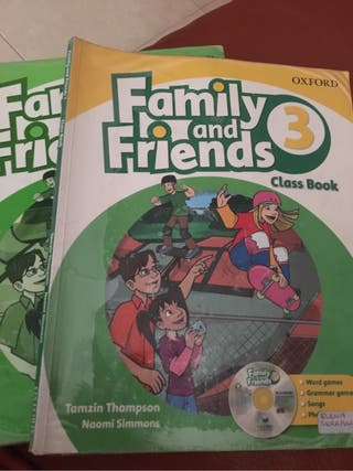 Libros inglés, 3 primaria