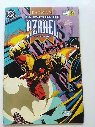 Batman - La espada de Azrael Miniserie completa