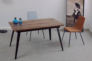 Mesa comedor industrial extensible 140-180cm